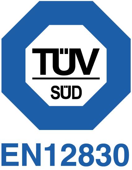 ITAG4 zgodność z TUV EN12830