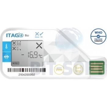 ITAG4 Bio - Jednorazowy rejestrator z aprobatą WHO