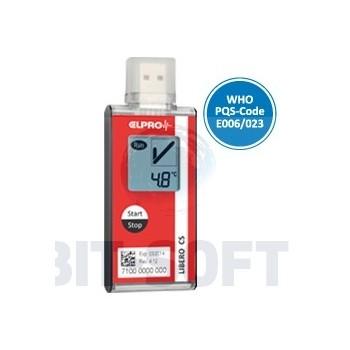 LIBERO CS - Jednorazowy rejestrator temperatur USB