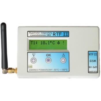 Zestaw rejestrator temperatury RTF II GSM z oprogramowaniem RTFArch