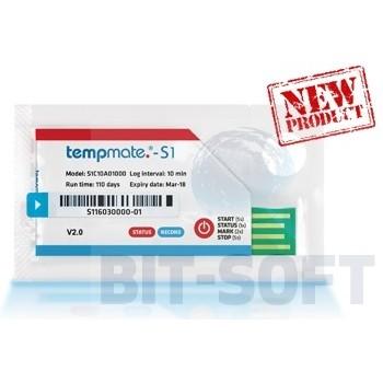 tempmate.®-S1 v2 - Jednorazowy rejestrator temperatury